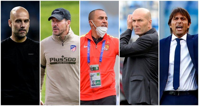 топ високоплатените треньори световния футбол
