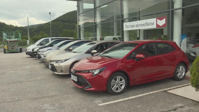 Ръст на продажбата на автомобили у нас