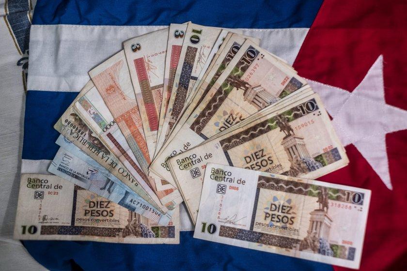 Куба преустановява депозитите в долари заради санкциите на САЩ