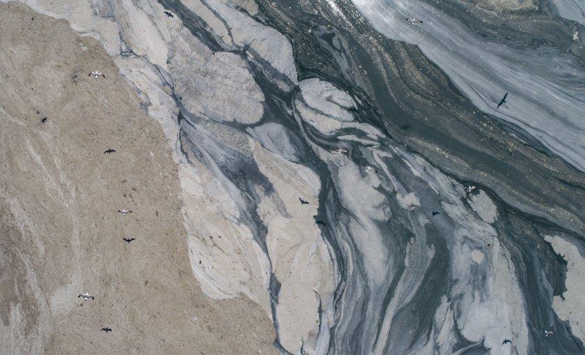 Водна слуз изпълва Мраморно море (Снимки)