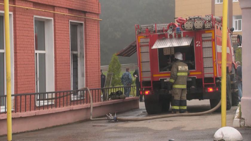 пожар болница русия жертви ранени