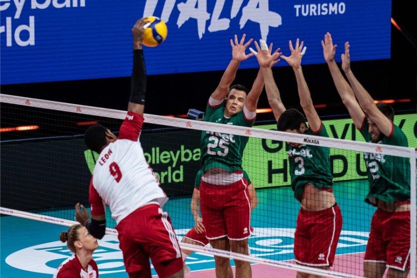 отново поражение волейболистите път бразилия
