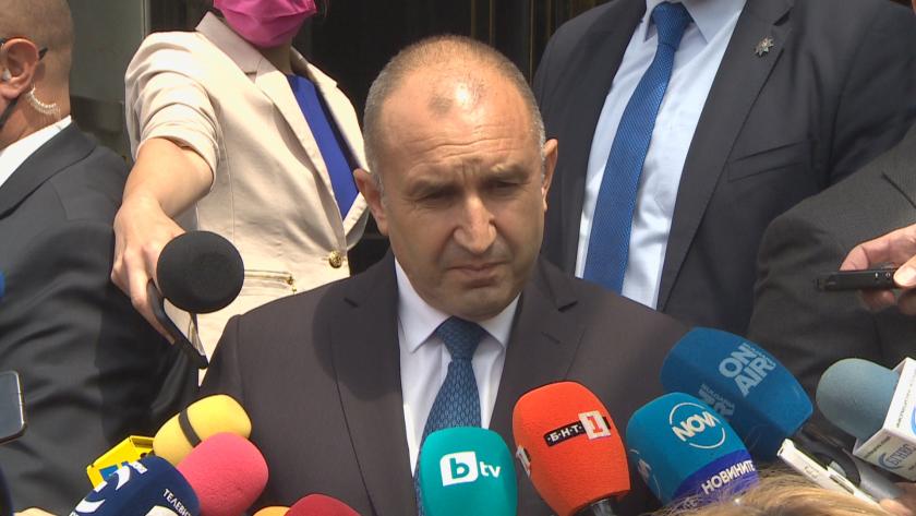 Президентът Радев с критика към Мустафа Карадайъ