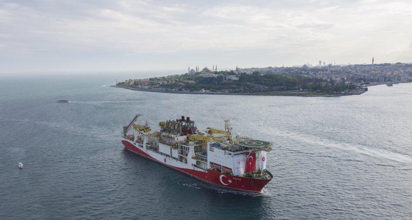ердоган турция откри ново газово находище черно море