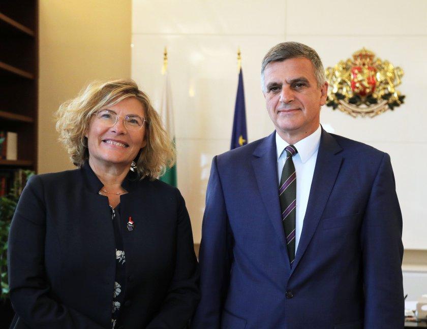 Премиерът Стефан Янев се срещна с френския посланик у нас