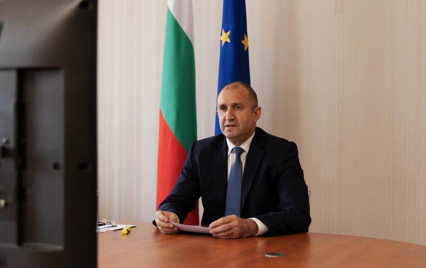 Румен Радев обсъди с Давид Сасоли теми от дневния ред на ЕС
