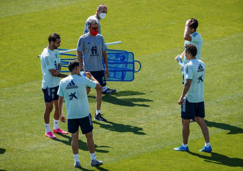 Национален отбор на Испания по футбол