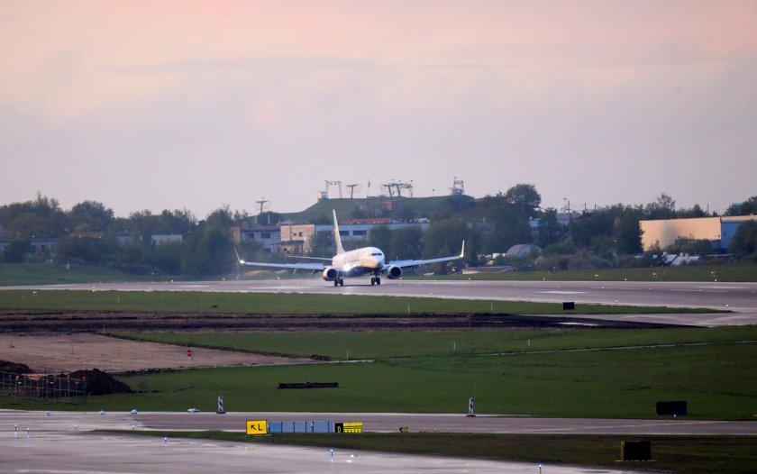 Прелитането на беларуска авиокомпания през България на 2 юни не е нарушение