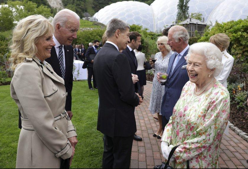 Кралица Елизабет Втора се срещна с Джо Байдън