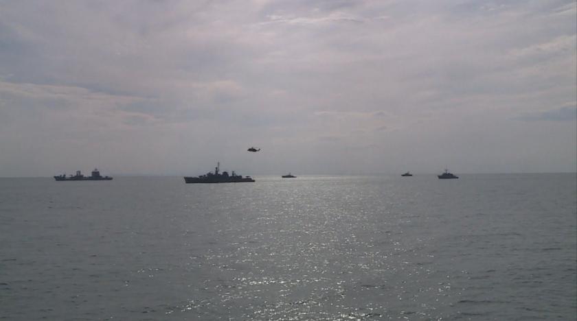 Локализирано е мястото, където е паднал изтребителят в Черно море.