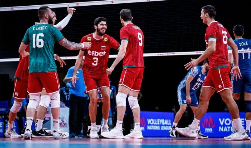 Девето поражение за волейболистите ни в Лигата на нациите