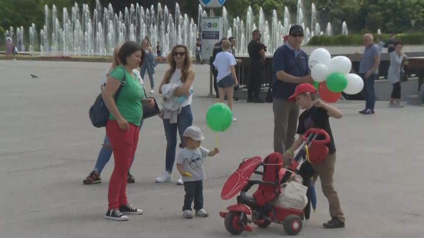 """Шествие в защита на традиционното семейство преди """"София Прайд"""""""