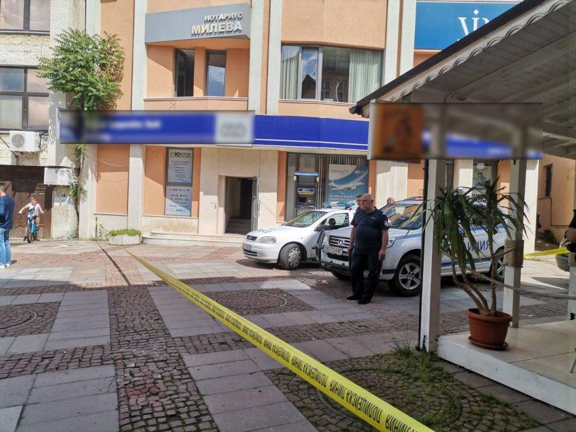 Задържаха мъжа, ограбил банка в Дупница