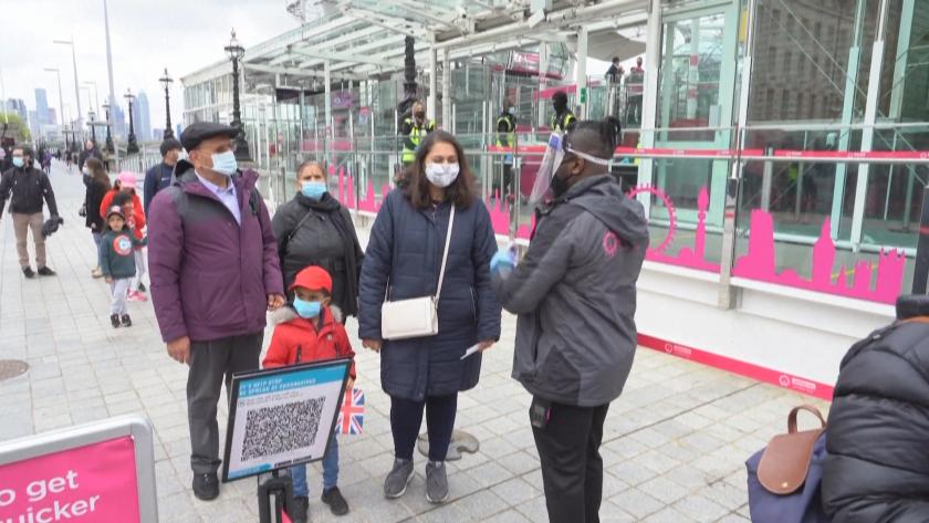 Протести във Великобритания заради удължаването на ограниченията срещу COVID-19.Британският премиер