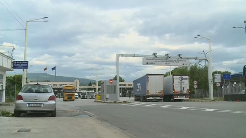 Натоварен трафик на граничен пункт Кулата - Промахон и в