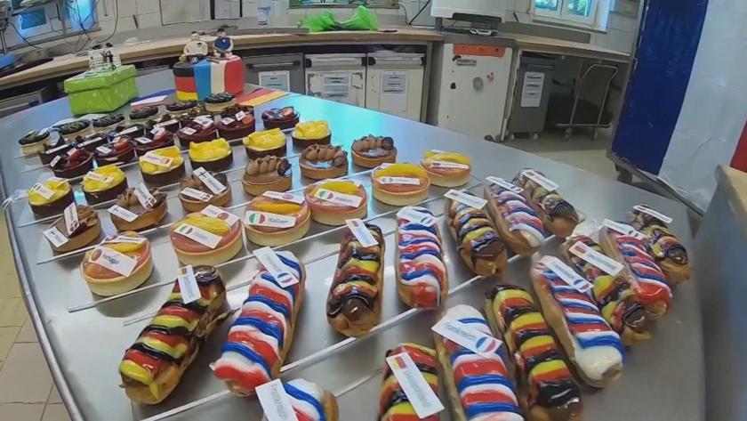 Евро 2020 влезе и в сладкарството