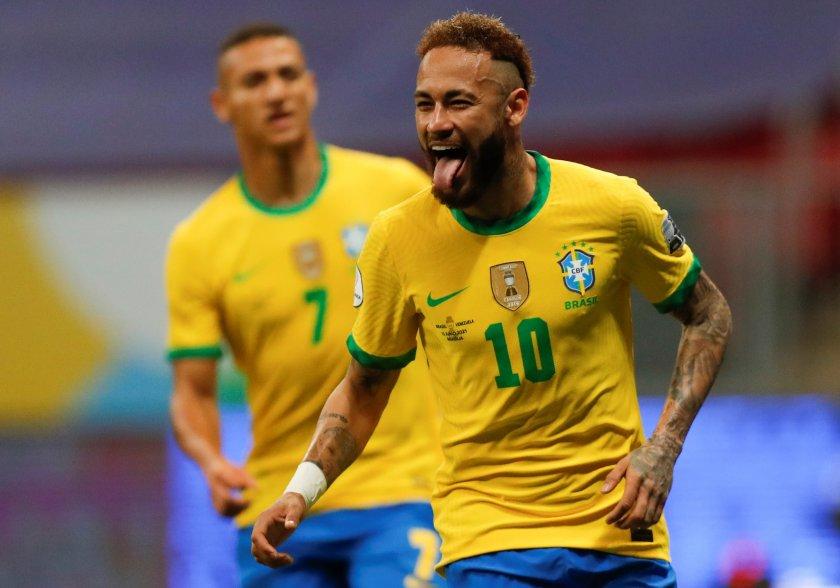 бразилия откри копа америка звучна победа венецуела