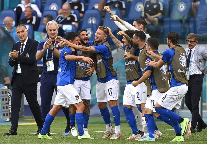 живо пестелива победа италия уелс продължава напред