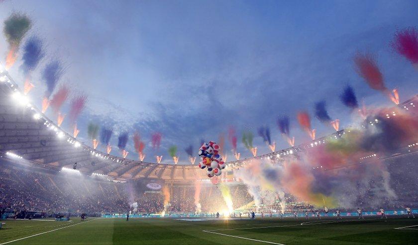 стилна церемония даде началото евро 2020 снимки