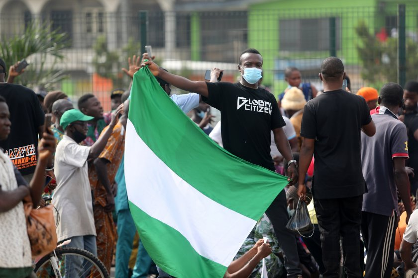 протести искане оставката президента нигерия