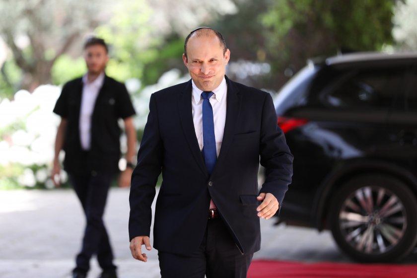 Нафтали Бенет ще положи клетва като министър-председател на 36-то правителство