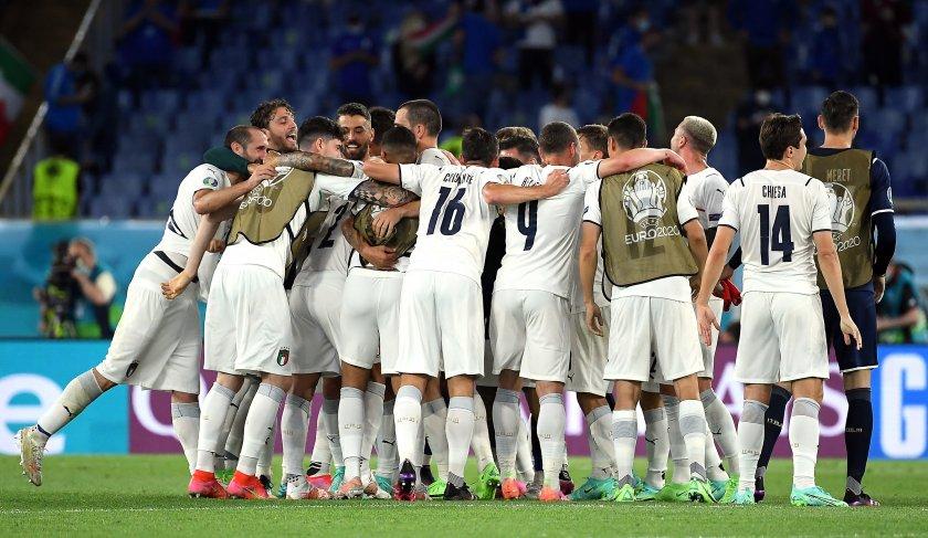 шоуто bdquoевро 2020ldquo започна исторически мач класика италия