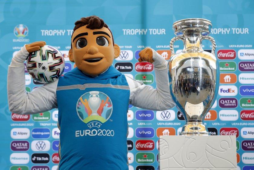 Талисманът на Евро 2020