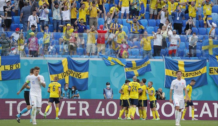 швеция направи крачка финалите евро 2020