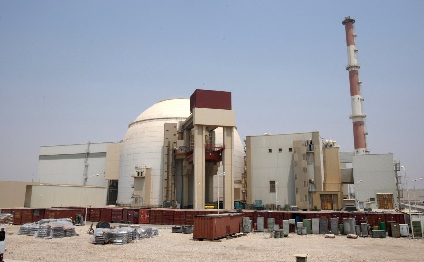 авария затвори иранска атомна електроцентрала