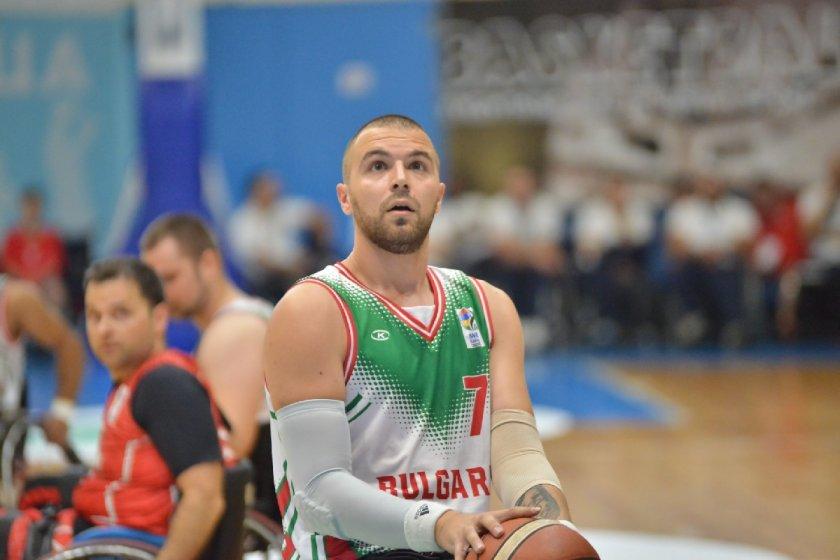 България записа първа победа над Гърция в баскетбола на колички