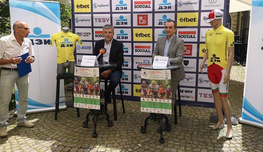 колоездачната обиколка българия започва юни