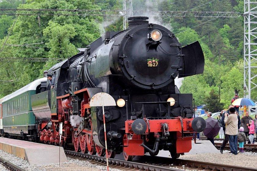 бдж организира пътуване парен локомотив трявна плачковци