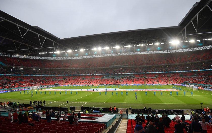 000 души гледат уембли полуфиналите финала евро 2020