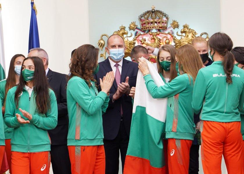 Румен Радев изпрати олимпийците ни с пожелание да извоюват желаните успехи (Снимки)