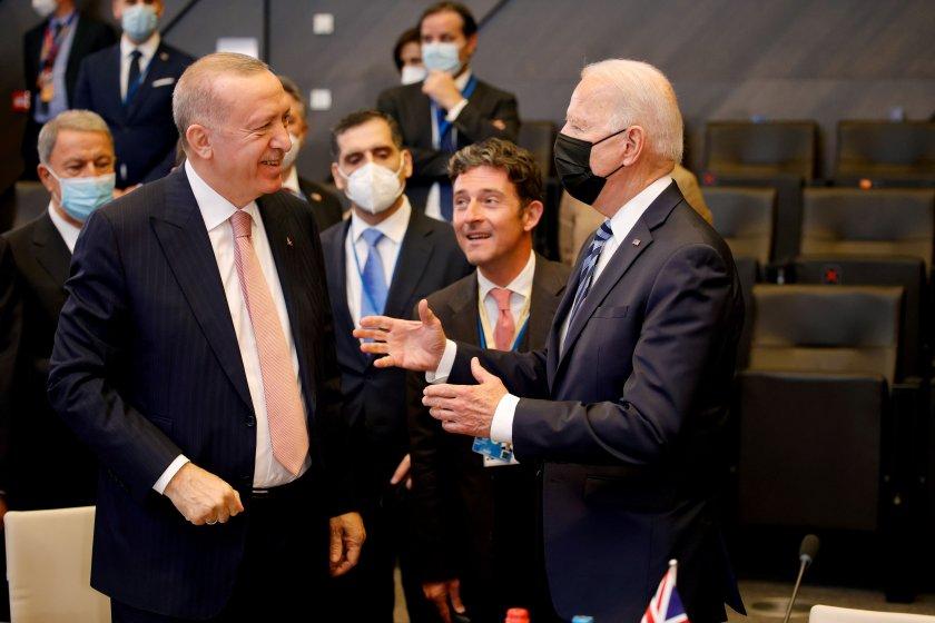 Турският президент Реджеп Тайип Ердоган заяви, че първата му среща