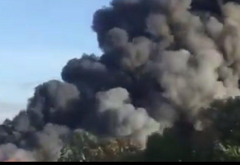 експлозия завод отпадъци летището линц ранени