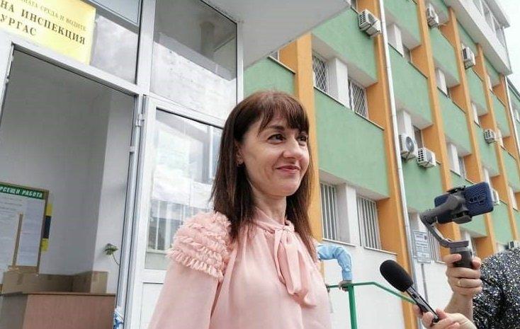Отстраненият директор на РИОСВ - Бургас Детелина Иванова заяви, се