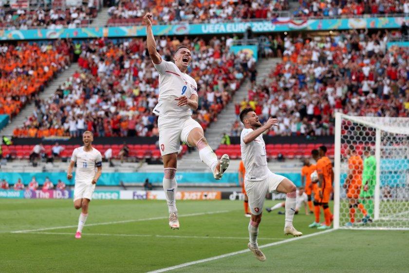 живо евро 2020 нидерландия чехия шик нов гол първенството