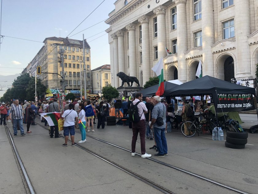 Пореден протест с искане за оставка на главния прокурор Иван
