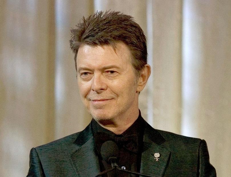 Картина на британската поп икона Дейвид Боуи, открита наскоро в