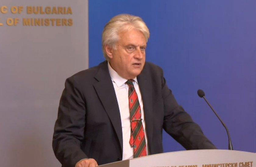 живо министър рашков изявление заседанието