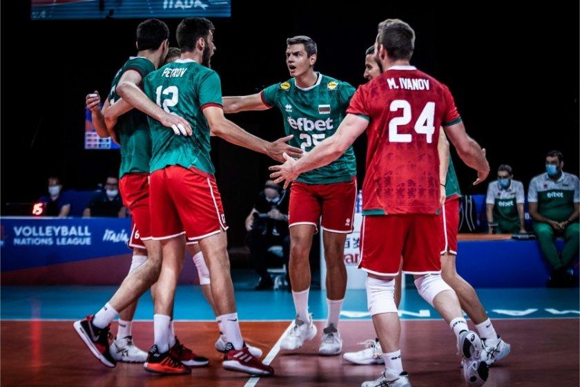 Волейболистите ни приключиха участието си в Лигата на нациите със загуба