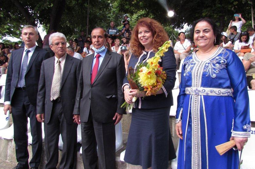 вицепрезидентът йотова откри международния младежки фестивал изкуствата созопол