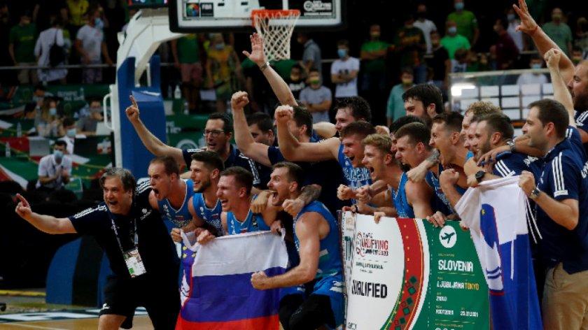 страхотен лука дончич класира словения първа олимпиада