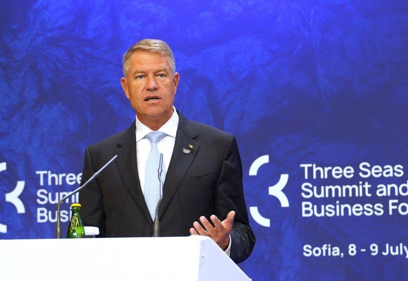 """Клаус Йоханис: Трябва да отговорим адекватно на очакванията към """"Три морета"""""""