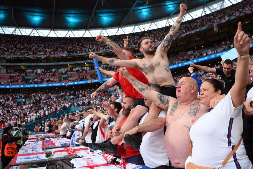 английските фенове поискаха преиграване финала евро 2020