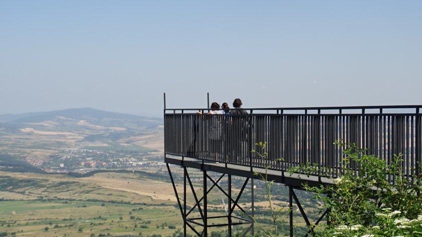 панорамната площадка бистрица гледка пет планини длан снимки