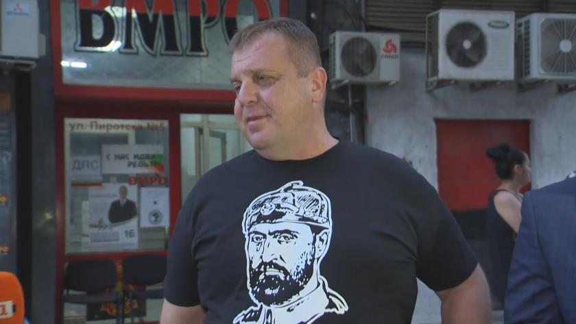 Каракачанов: Не ми харесва резултатът, защото не е добър