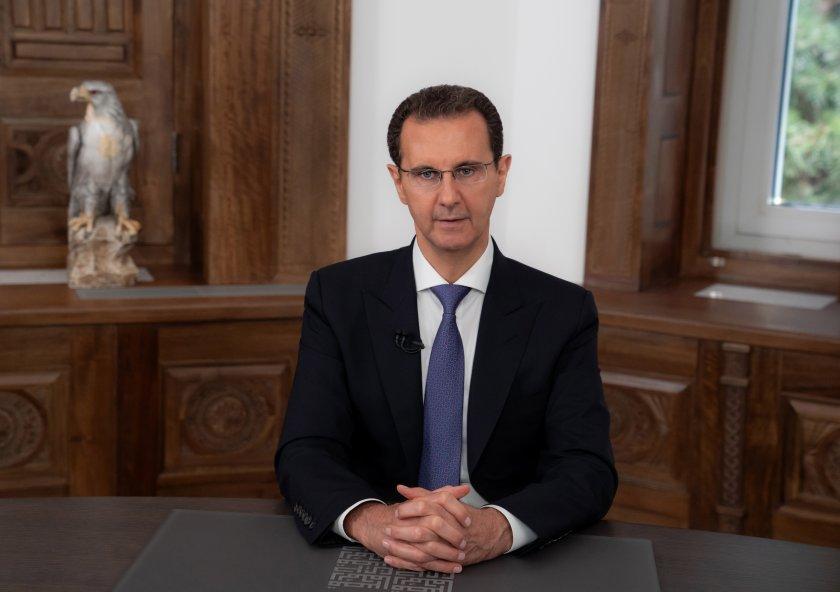 асад положи клетва президент сирия