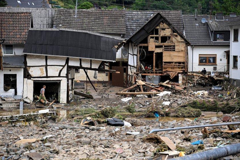 Няма пострадали българи при наводненията в Германия и Белгия